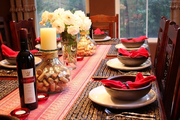Table Setting For Dinner Party : Portuguese Dinner Party Table Setting