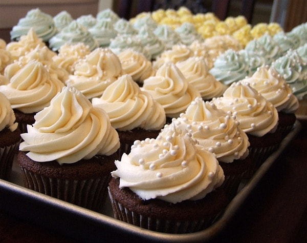This is my go-to recipe for icing basic cupcakes and wedding cake. It ...