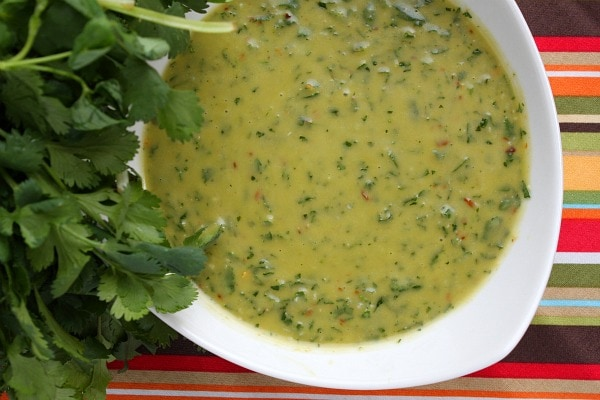 Chimichurri Sauce - RecipeGirl
