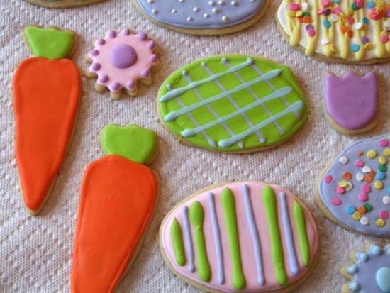 Meyer Lemon Cut Out Sugar Cookies