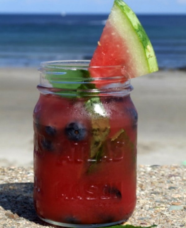 Watermelon- Tequila Cocktail Recipe — Dishmaps